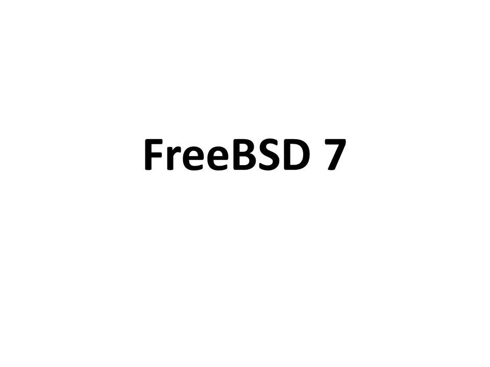 Historia 1991 – pierwsze wydanie BSD (386BSD) na procesory x86 21 marca 1993 – początek prac nad NetBSD 19 czerwca 1993 – rozpoczęcie prac nad projektem FreeBSD 1995 – rozłam w zespole NetBSD – powstanie OpenBSD 2004 – wydzielenie z projektu FreeBSD wersji PC- BSD listopad 2009 roku – wydanie FreeBSD 8.0