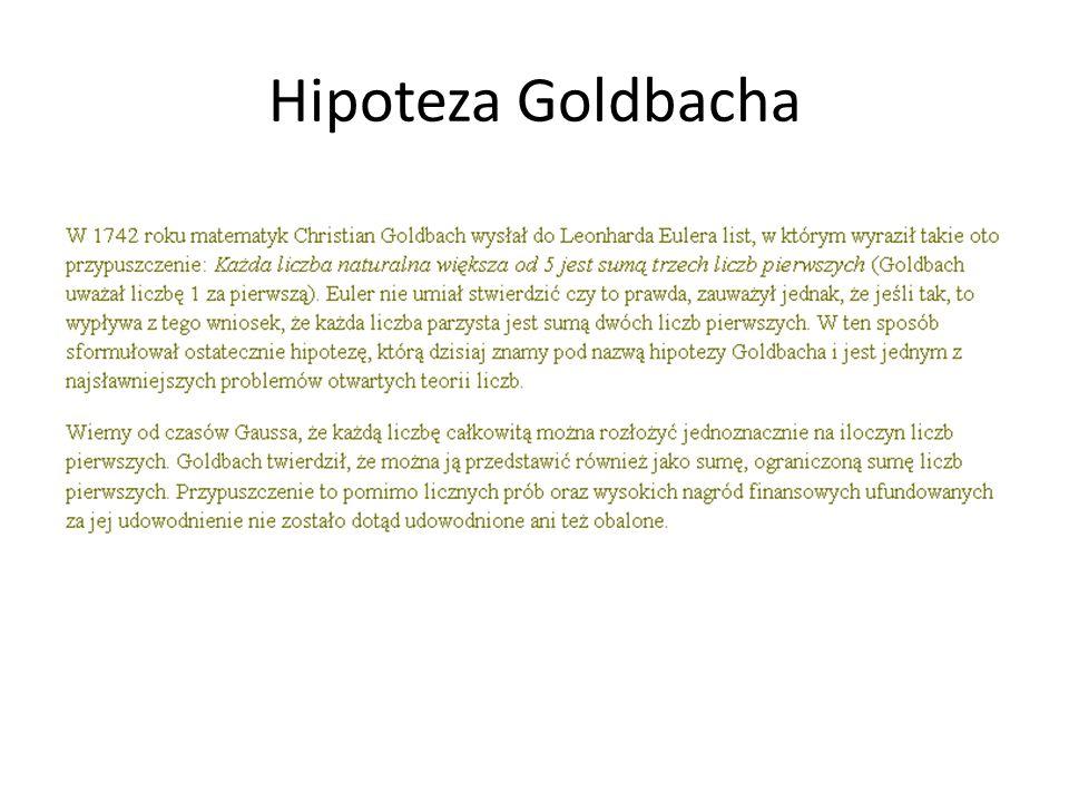 Hipoteza Goldbacha
