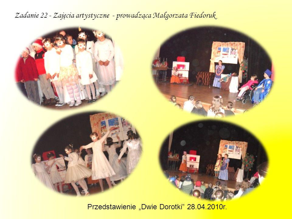 """Przedstawienie """"Dwie Dorotki"""" 28.04.2010r."""