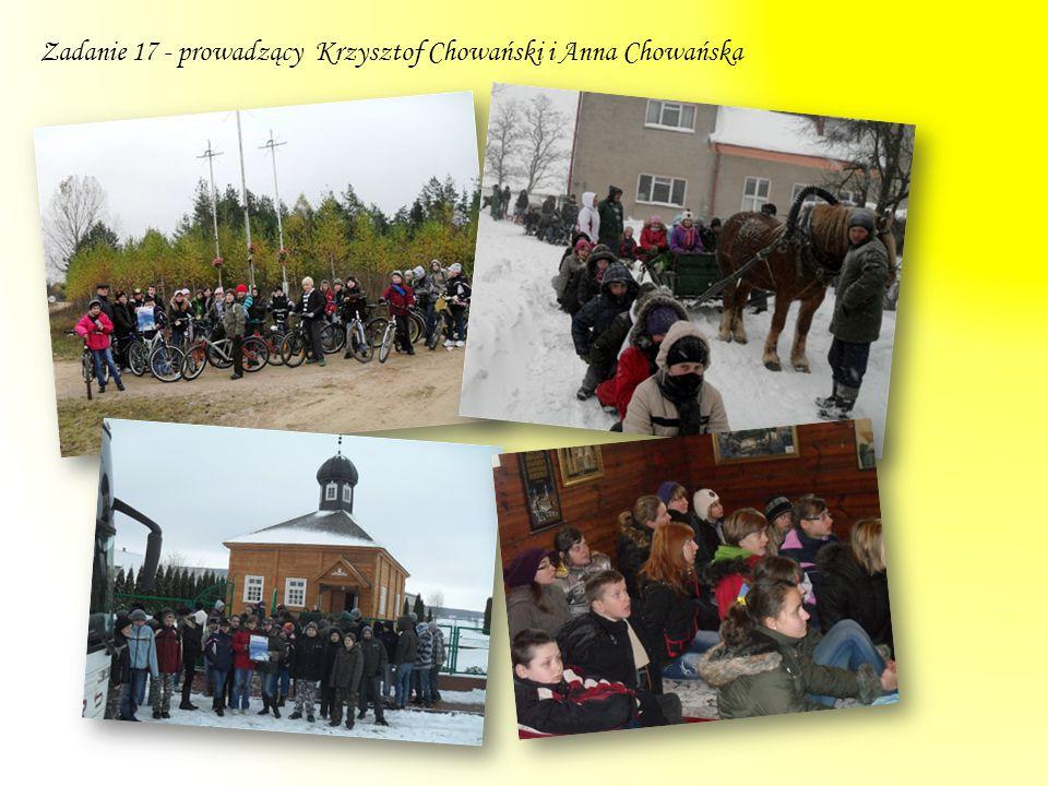 Zajęcia odbywały się w dwóch grupach, uczestniczyli w nich uczniowie gimnazjum.