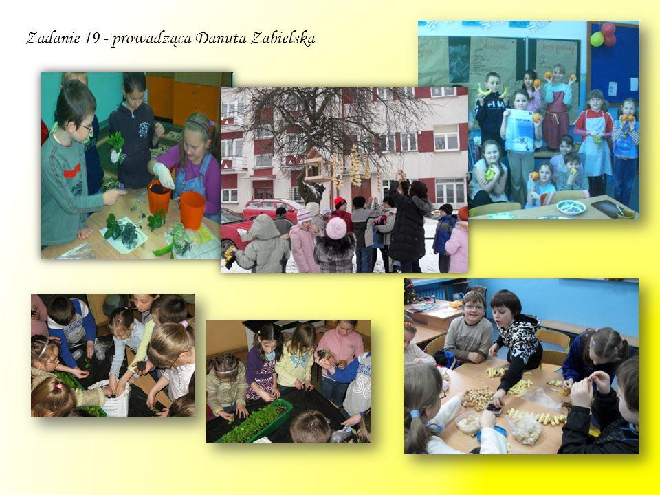 Zadanie 29 – prowadząca Barbara Kozłowska Zajęcia wyrównawcze z języka angielskiego dla klas IV-VI SP odbywały się dwa razy w tygodniu.