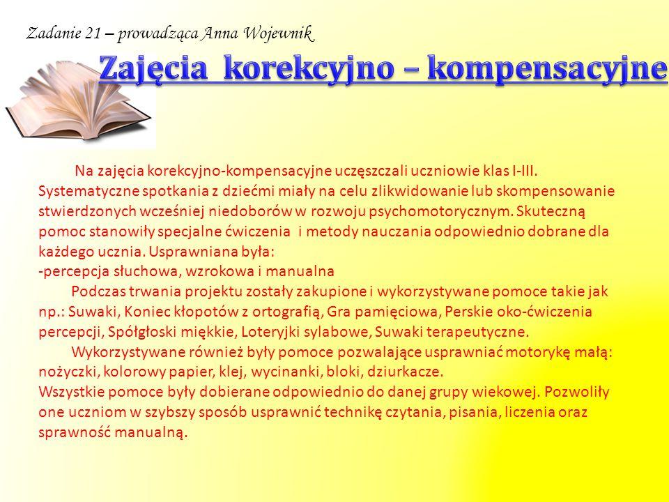 Zadanie 29 – prowadząca Barbara Kozłowska