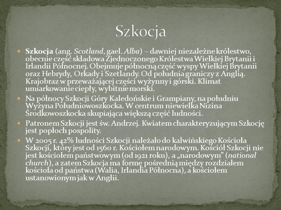 Szkocja (ang.Scotland, gael.
