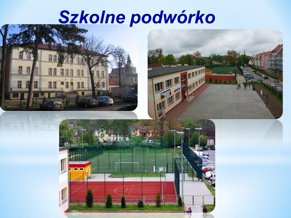 Pomieszczenia szkolne