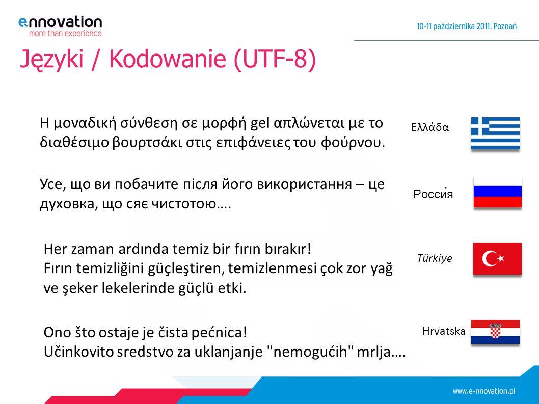 Języki / Kodowanie (UTF-8) Усе, що ви побачите після його використання – це духовка, що сяє чистотою…. Türkiye Her zaman ardında temiz bir fırın bırak