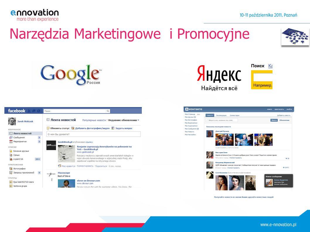 Narzędzia Marketingowe i Promocyjne