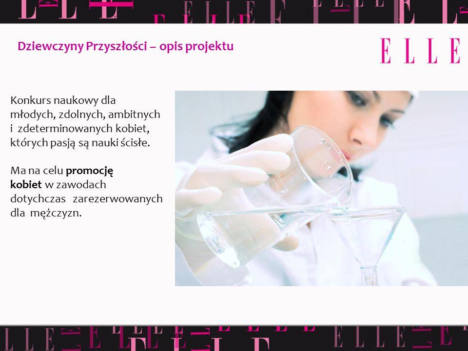 Konkurs naukowy dla młodych, zdolnych, ambitnych i zdeterminowanych kobiet, których pasją są nauki ścisłe. Ma na celu promocję kobiet w zawodach dotyc