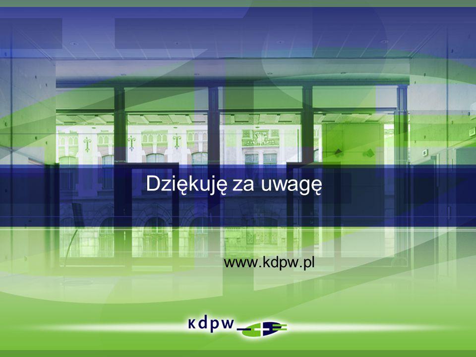 Dziękuję za uwagę www.kdpw.pl