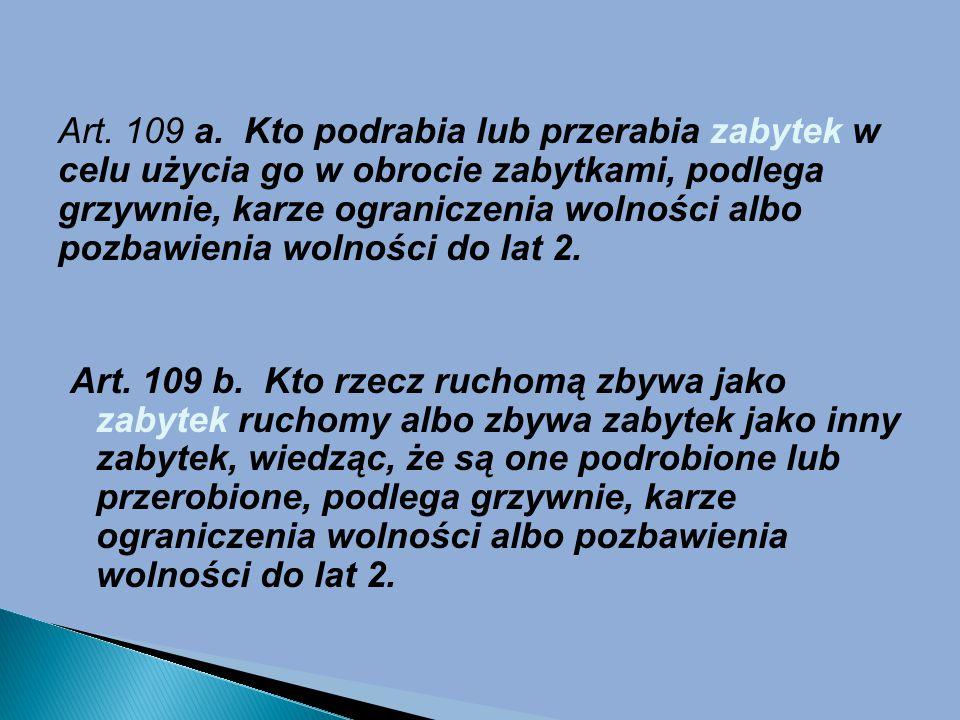 Art.109 a.