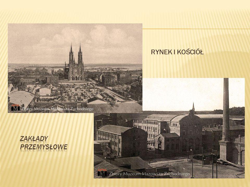 Malownicze miasto i gmina w województwie mazowieckim, w powiecie żyrardowskim. Czerwony Żyrardów
