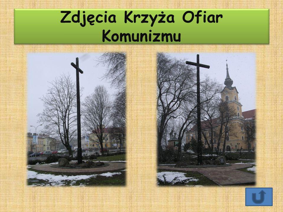 Zdjęcia Krzyża Ofiar Komunizmu