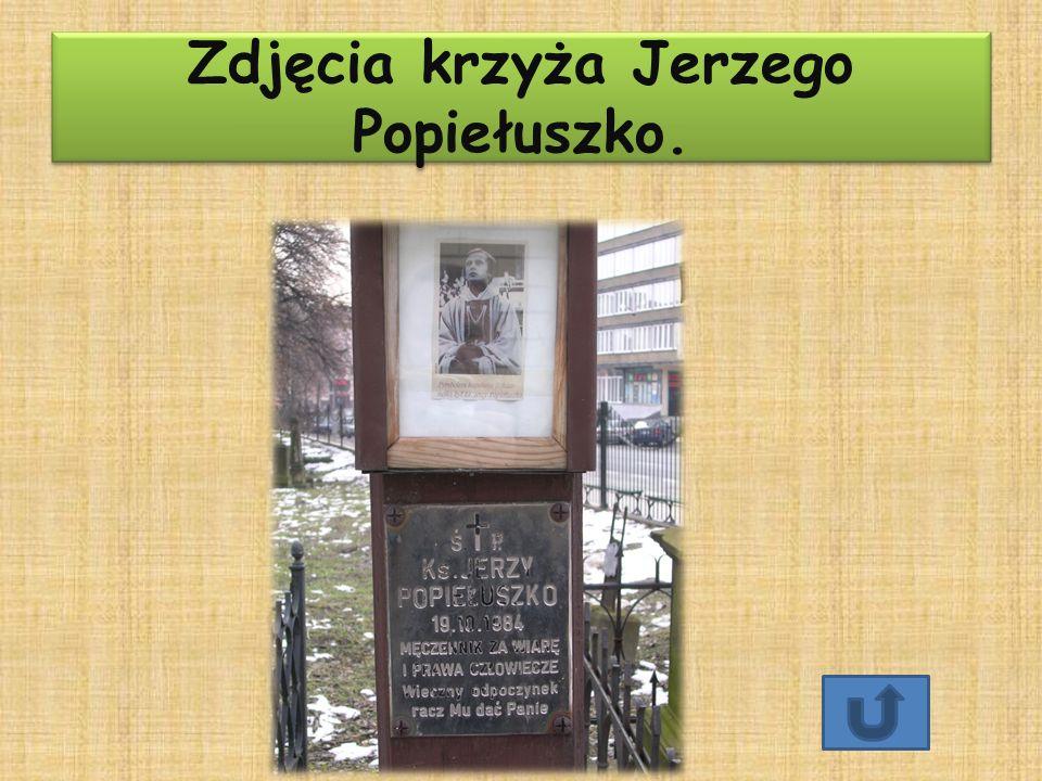 Zdjęcia krzyża Jerzego Popiełuszko. Zdjęcia krzyża Jerzego Popiełuszko.
