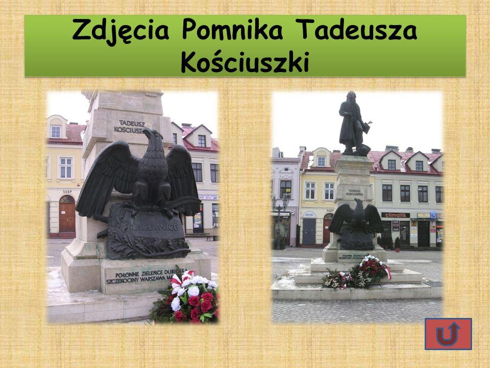 Zdjęcia Pomnika Tadeusza Kościuszki Zdjęcia Pomnika Tadeusza Kościuszki