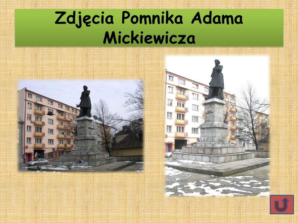 Zdjęcia Pomnika Adama Mickiewicza