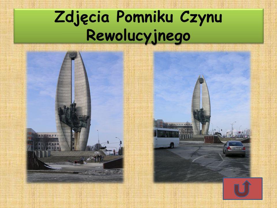 Zdjęcia Pomniku Czynu Rewolucyjnego Zdjęcia Pomniku Czynu Rewolucyjnego