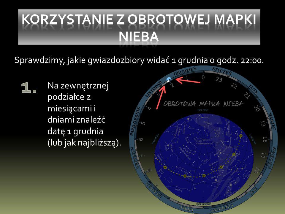 Sprawdzimy, jakie gwiazdozbiory widać 1 grudnia o godz.