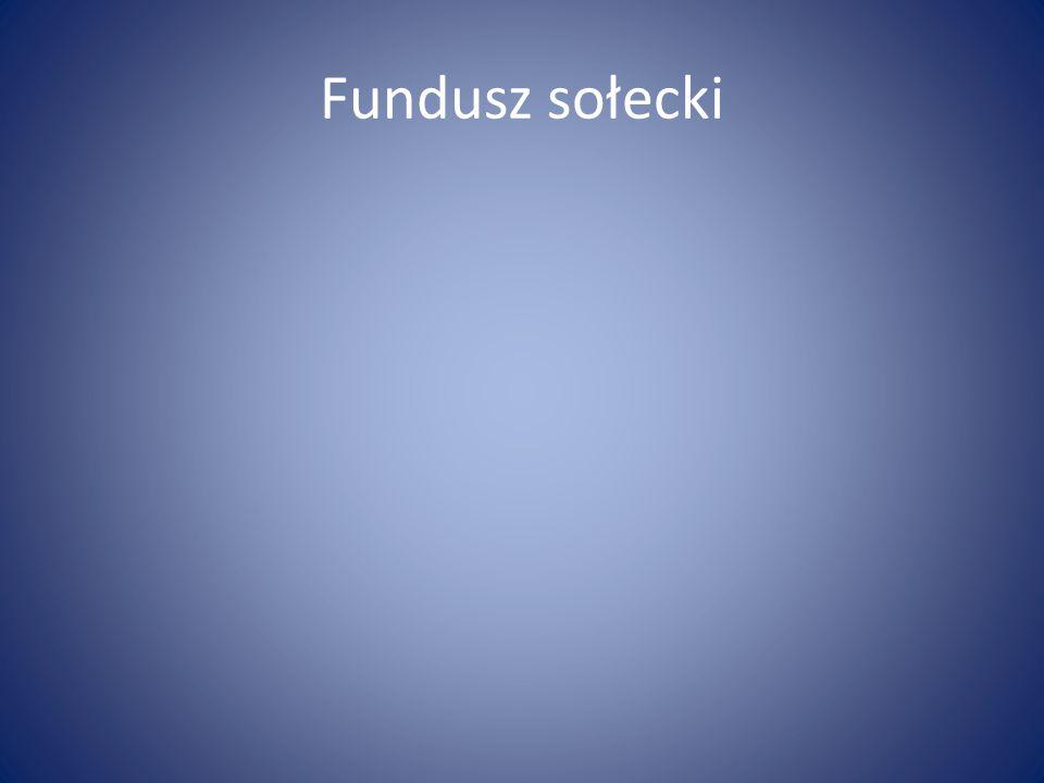 Fundusz sołecki