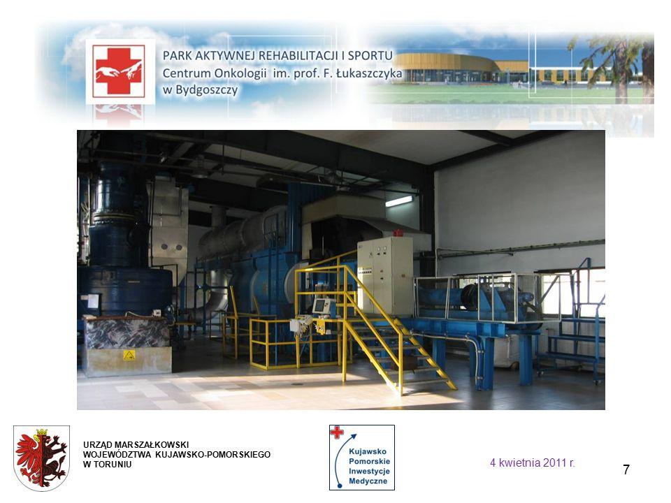8 Rozszerzenie zakresu działalności istniejącego Zakładu Rehabilitacji w Centrum poprzez powiększenie jego powierzchni użytkowej i stworzenie możliwości organizacyjnych do świadczenia usług medycznych.