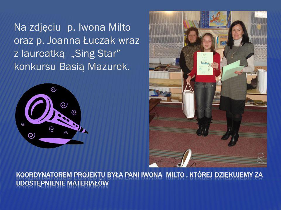 Na zdjęciu p.Iwona Milto oraz p.