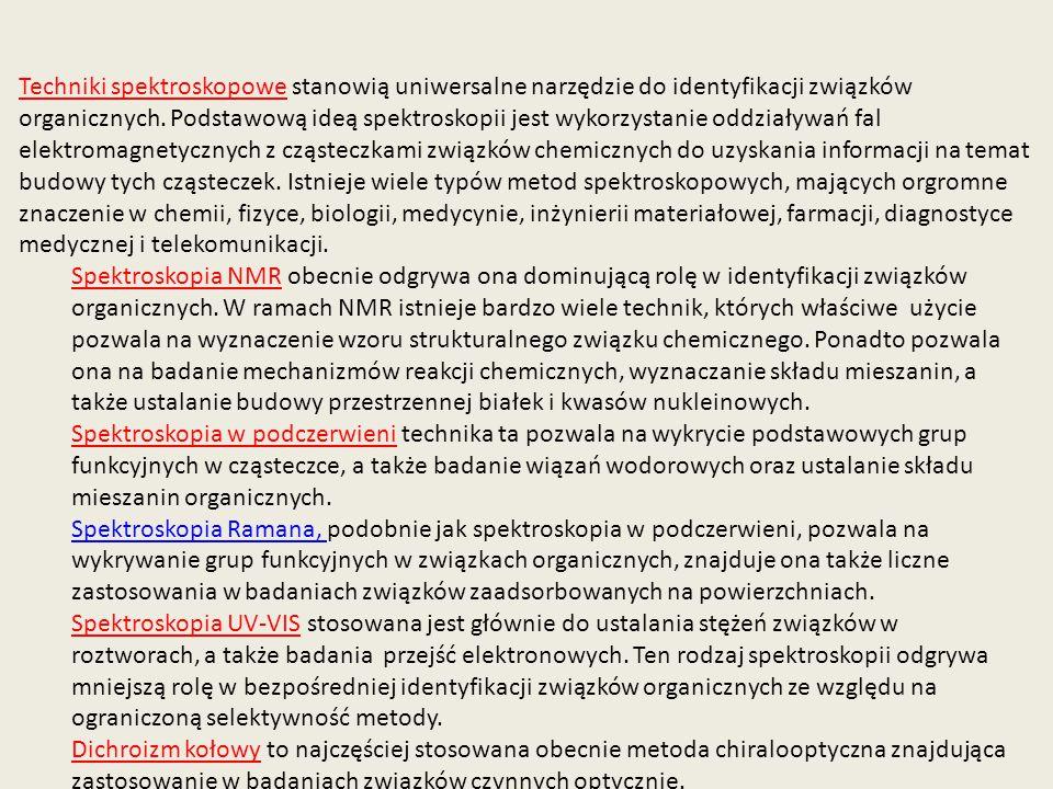 http://www.spectroscopynow.com/coi/cda/detail.cda?id=18427&type=EducationFeature&c hId=2&page=1 Atomy w cząsteczce wykonują drgania wokół położenia równowagi.