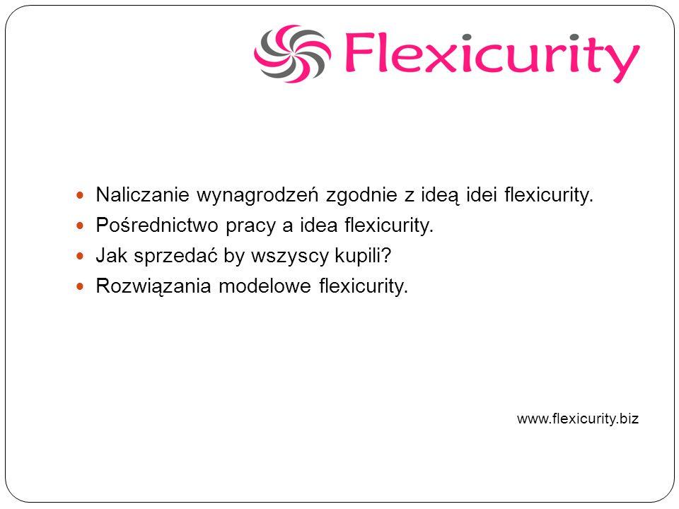 Naliczanie wynagrodzeń zgodnie z ideą idei flexicurity.