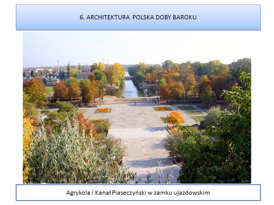Agrykola i Kanał Piaseczyński w zamku ujazdowskim