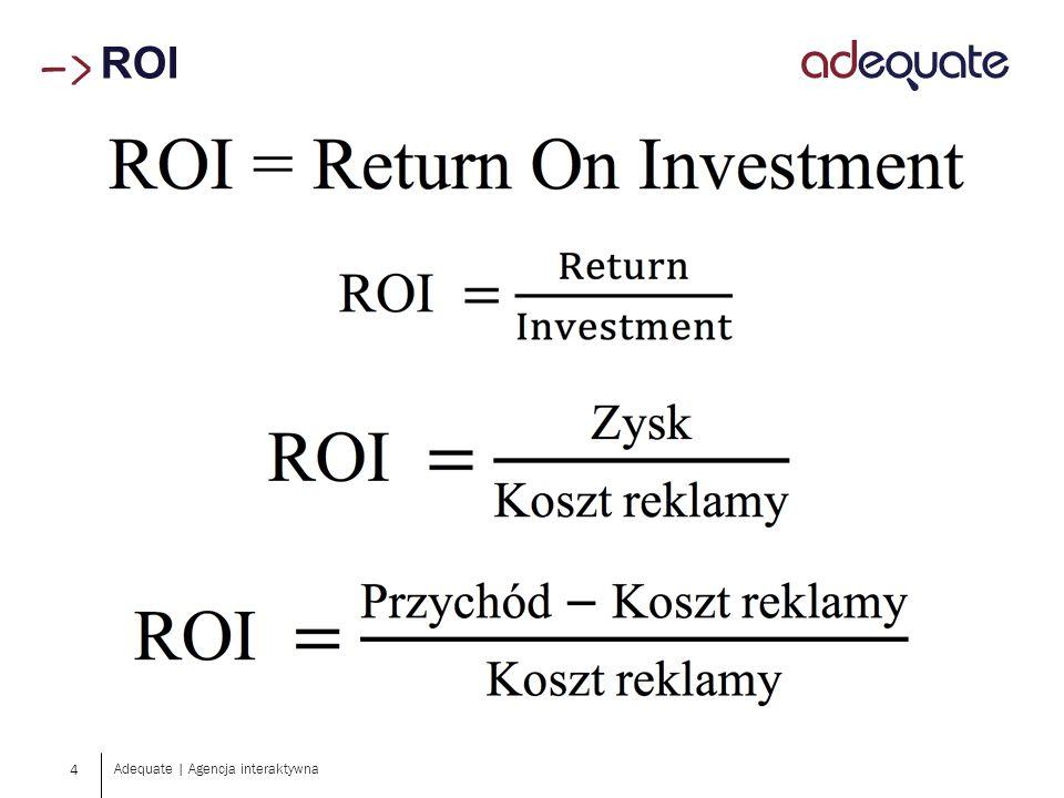 4 ROI Adequate | Agencja interaktywna