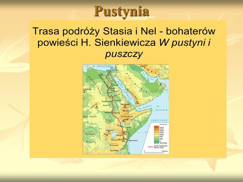Henryk Sienkiewicz a Staś i Nel Dużą popularnością cieszyła się drukowana w Kurierze Warszawskim w latach 1910-11 powieść dla młodzieży W pustyni Dużą popularnością cieszyła się drukowana w Kurierze Warszawskim w latach 1910-11 powieść dla młodzieży W pustyni i w puszczy.