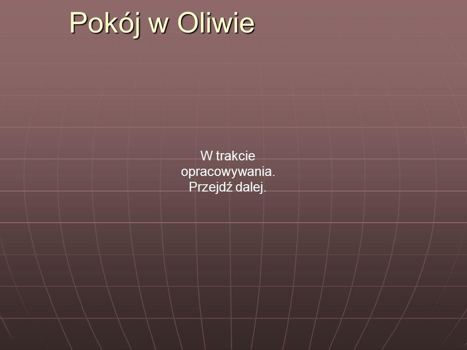 Pokój w Oliwie