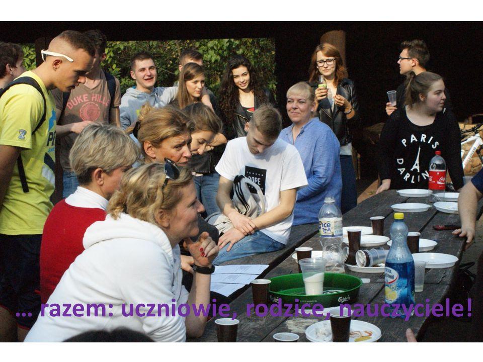 … razem: uczniowie, rodzice, nauczyciele!