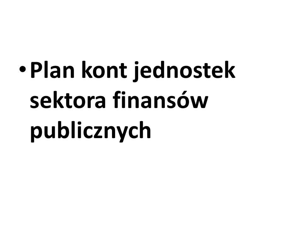 Ogólne zasady prowadzenia zakładowych planów kont w jednostkach sektora finansów publicznych: Jednostki budżetowe, gospodarstwa pomocnicze, jednostki samorządowe, środki specjalne oraz zakłady budżetowe mają obowiązek opracowania dokumentacji opisującej przyjęte zasady rachunkowości.