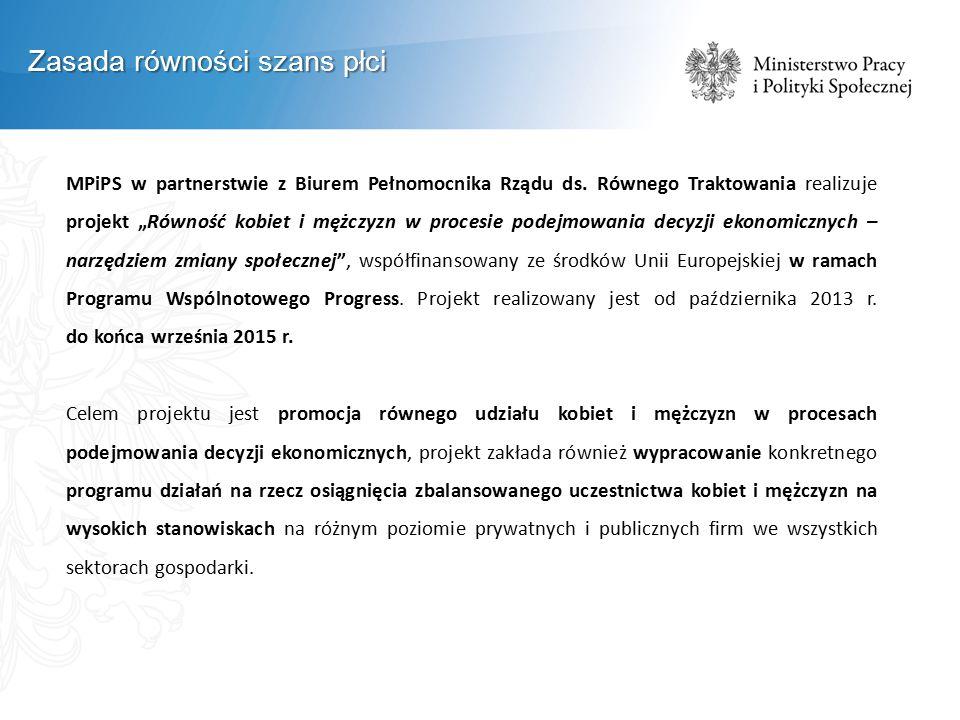 MPiPS w partnerstwie z Biurem Pełnomocnika Rządu ds.