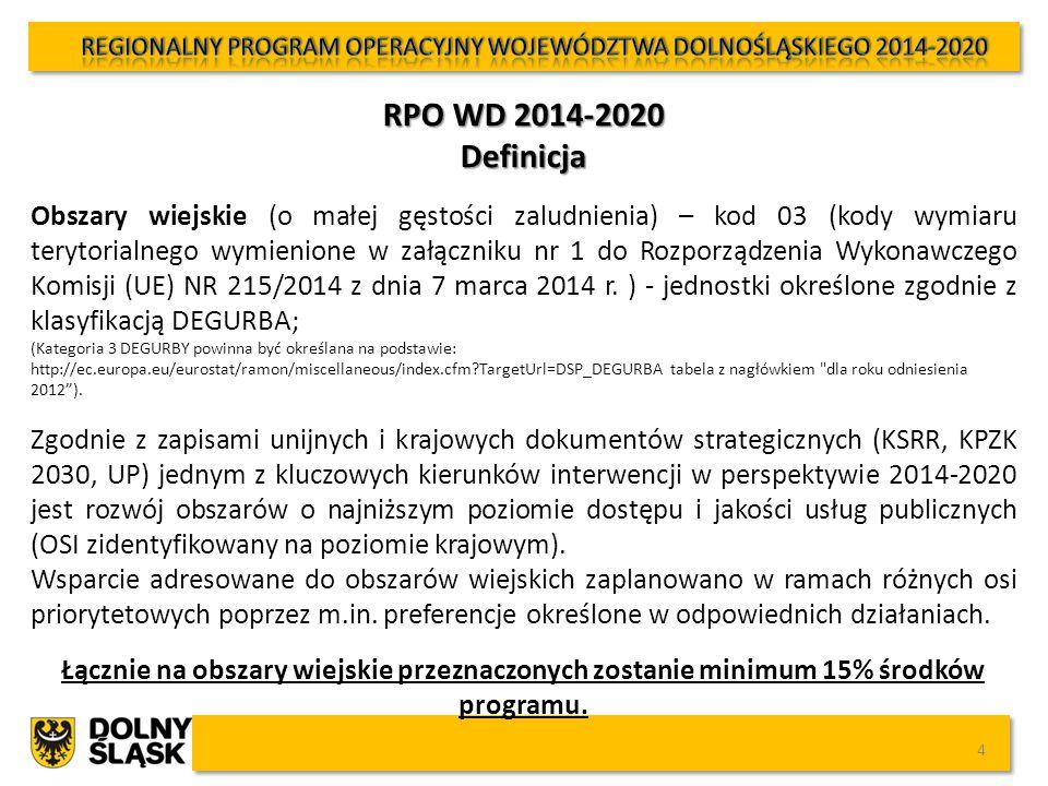 5 Kolorem czerwonym zaznaczono osie priorytetowe, w których przewiduje się preferencje dla obszarów wiejskich FunduszAlokacja (EUR) Oś priorytetowa 1 PRZEDSIĘBIORSTWA I INNOWACJE EFRR415 546 718 Oś priorytetowa 2 TECHNOLOGIE INFORMACYJNO-KOMUNIKACYJNE EFRR66 386 308 Oś priorytetowa 3 GOSPODARKA NISKOEMISYJNA EFRR 392 347 048 Oś priorytetowa 4 ŚRODOWISKO I ZASOBY EFRR 180 030 665 Oś priorytetowa 5 TRANSPORT EFRR 340 626 305 Oś priorytetowa 6 INFRASTRUKTURA SPÓJNOŚCI SPOŁECZNEJ EFRR 163 026 832 Oś priorytetowa 7 INFRASTRUKTURA EDUKACYJNA EFRR 60 952 230 Oś priorytetowa 8 RYNEK PRACY EFS 254 323 171 Oś priorytetowa 9 WŁĄCZENIE SPOŁECZNE EFS 143 926 219 Oś priorytetowa 10 EDUKACJA EFS 156 181 093 POMOC TECHNICZNAEFS 79 200 000 RAZEM 2 252 546 589