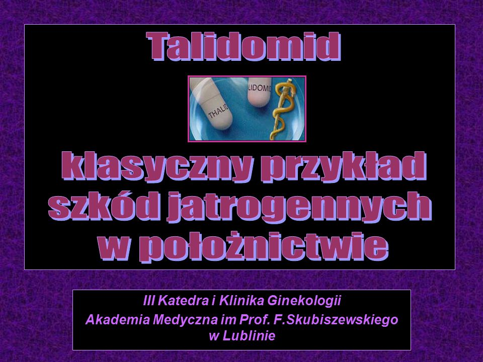 III Katedra i Klinika Ginekologii Akademia Medyczna im Prof. F.Skubiszewskiego w Lublinie
