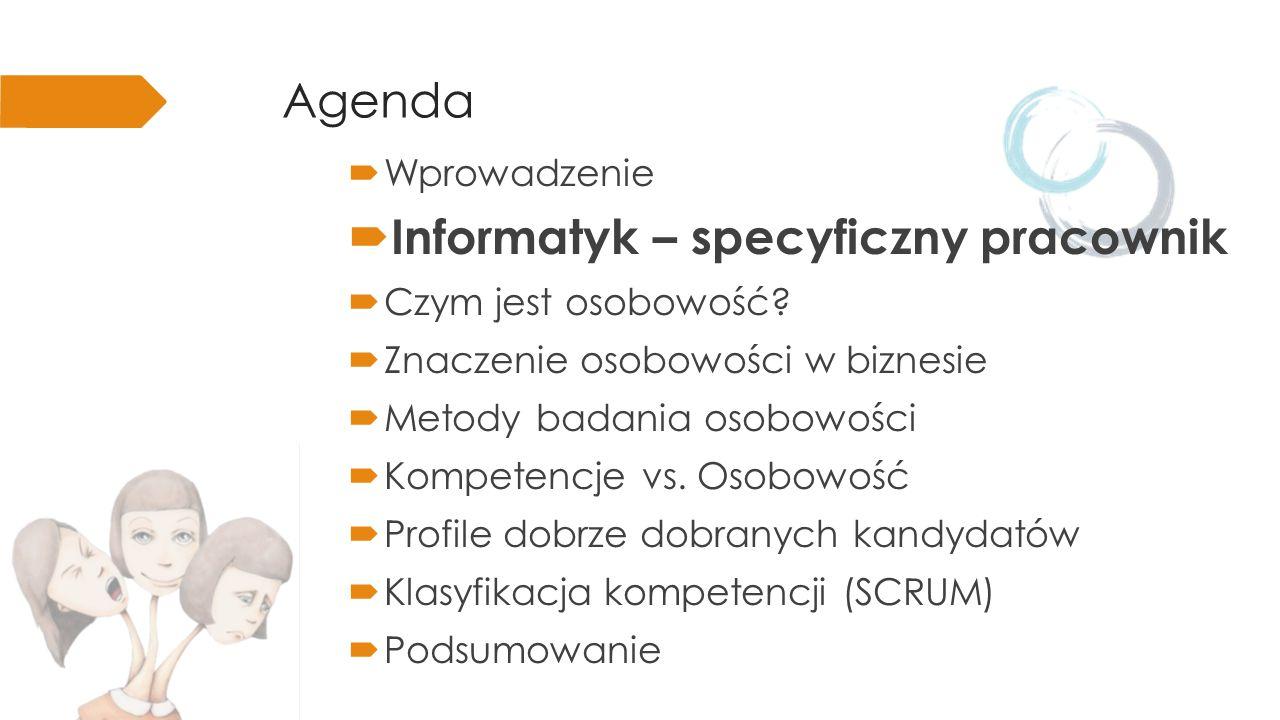 Informatyk kluczowy czynnik każdego projektu (w kontekście tworzenia oprogramowania)