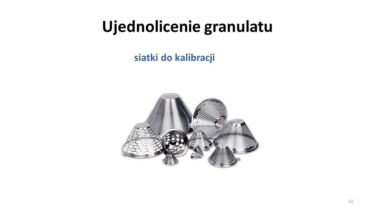 Ujednolicenie granulatu siatki do kalibracji 62