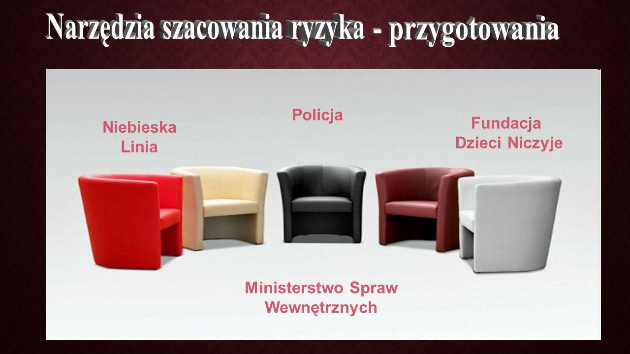 Ministerstwo Spraw Wewnętrznych Niebieska Linia Policja Fundacja Dzieci Niczyje