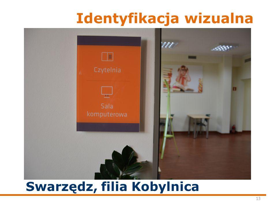 Identyfikacja wizualna 13 Swarzędz, filia Kobylnica