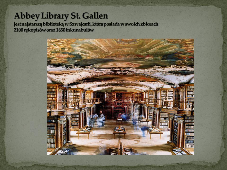 Biblioteka Opactwa Benedyktynów w Melku, Austria