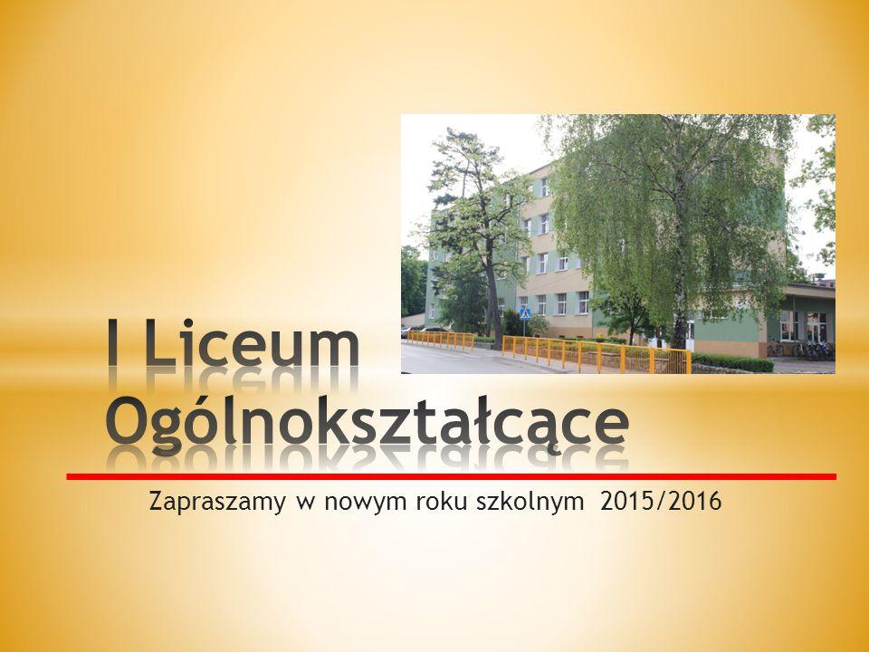 Zapraszamy w nowym roku szkolnym 2015/2016