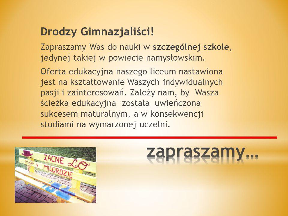 Pod koniec września wszystkie pierwsze klasy wyruszają na RAJD PIERWSZAKA.