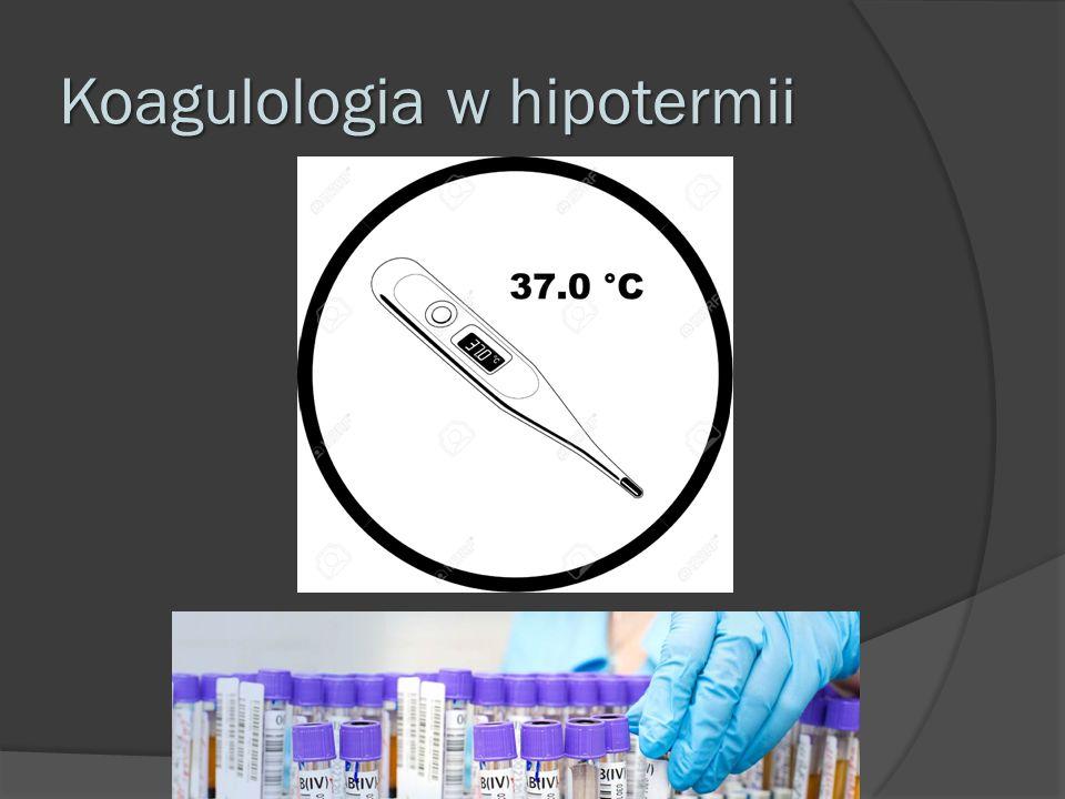 Koagulologia w hipotermii