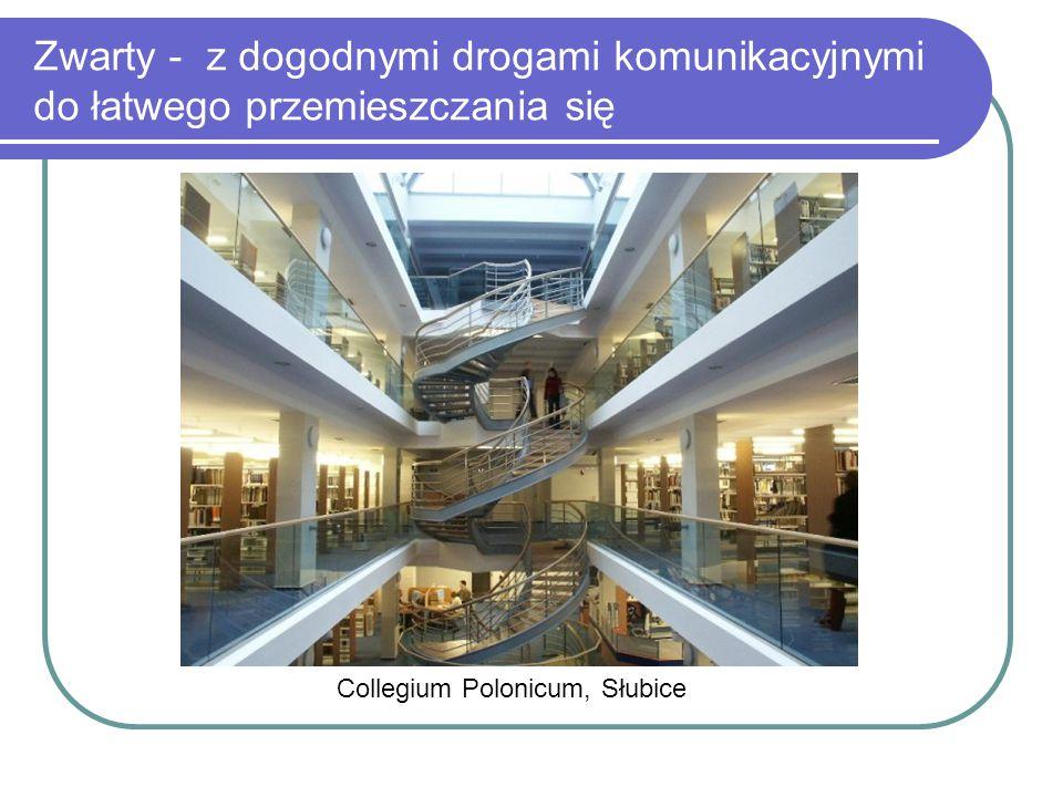 Collegium Polonicum, Słubice Zwarty - z dogodnymi drogami komunikacyjnymi do łatwego przemieszczania się
