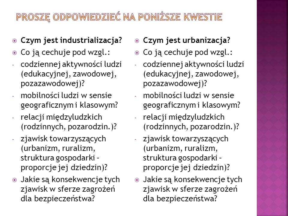  Czym jest industrializacja.