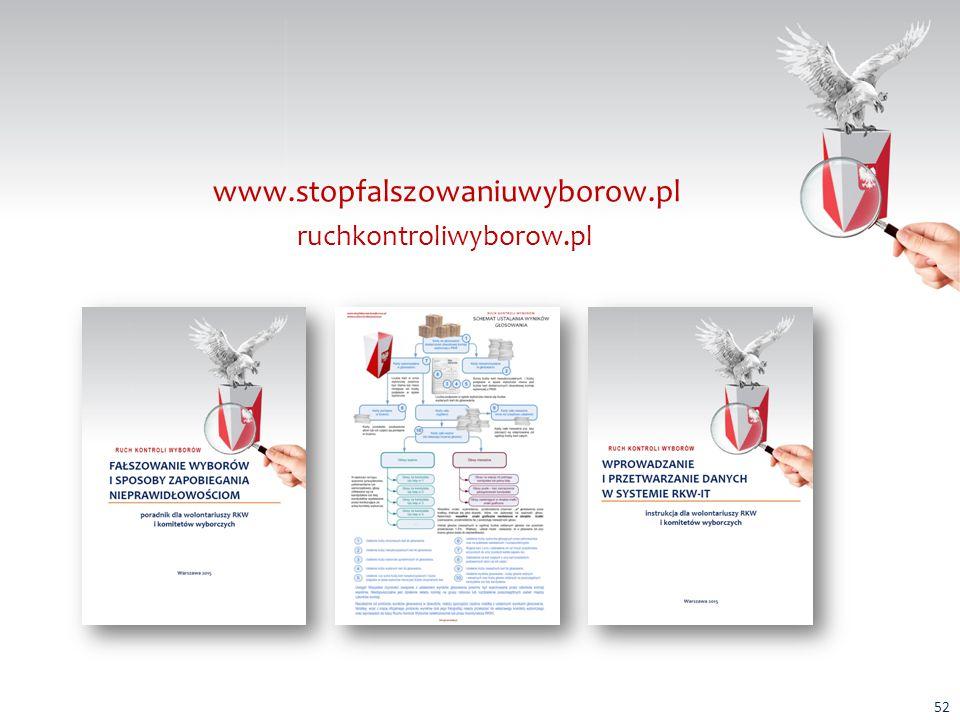 ruchkontroliwyborow.pl www.stopfalszowaniuwyborow.pl 52