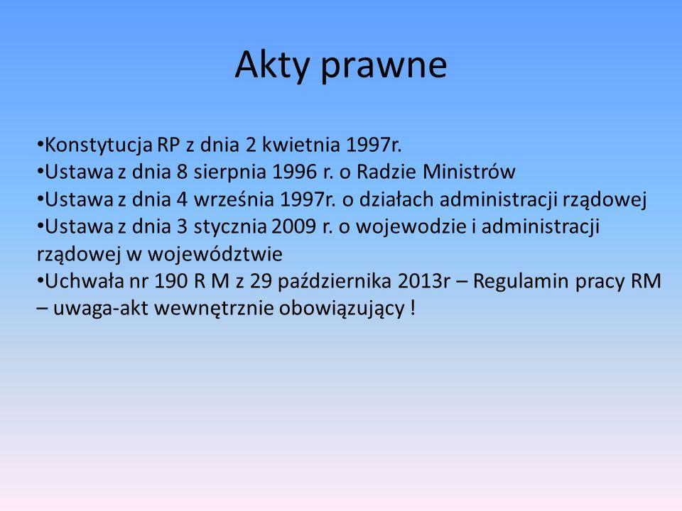 Odpowiedzialność członka RM Polityczna – wniosek o wotum nieufności, min.