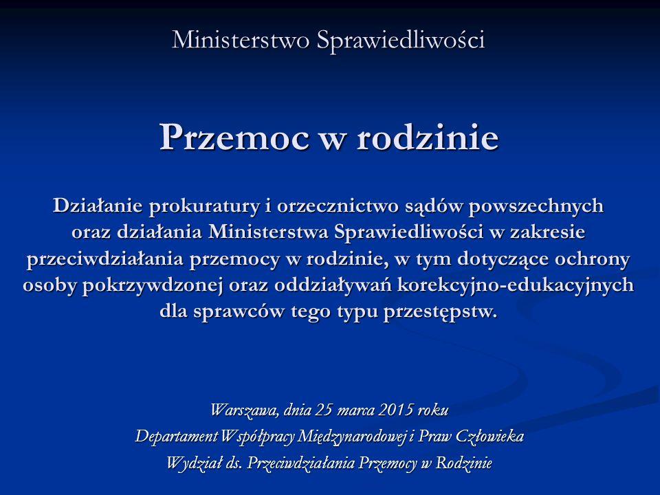1.Orzecznictwo ogólne. W 2014 roku w Sądach Rejonowych w Polsce skazano ogółem: 299.984 osób.