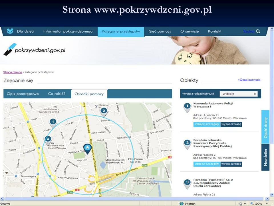 Strona www.pokrzywdzeni.gov.pl