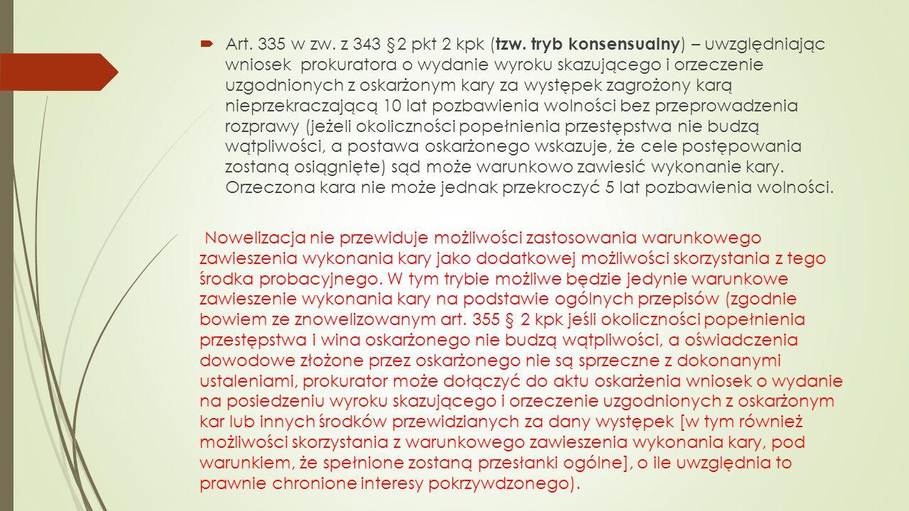  Art.335 w zw. z 343 §2 pkt 2 kpk ( tzw.