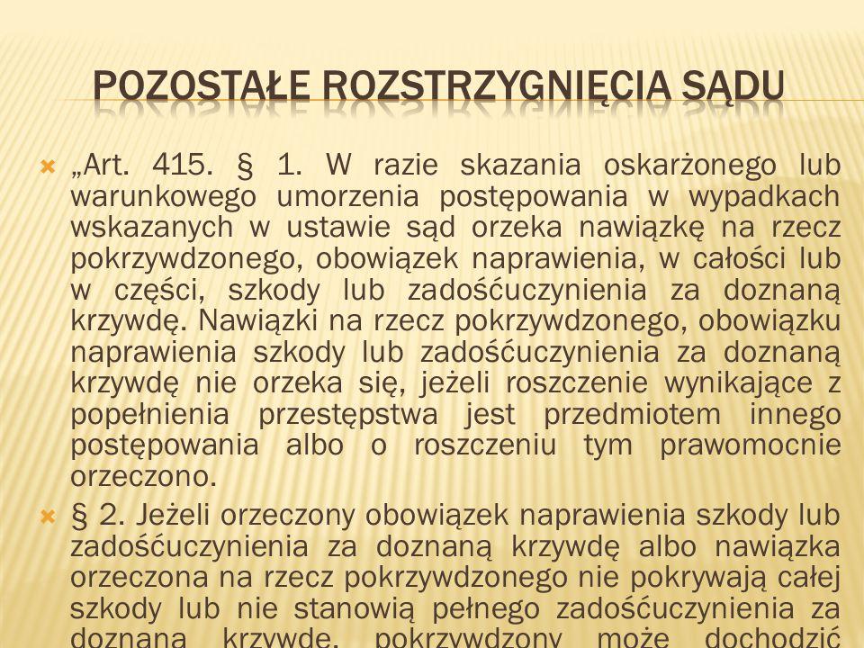 """ """"Art.415. § 1."""